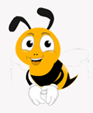 viral content buzz bee