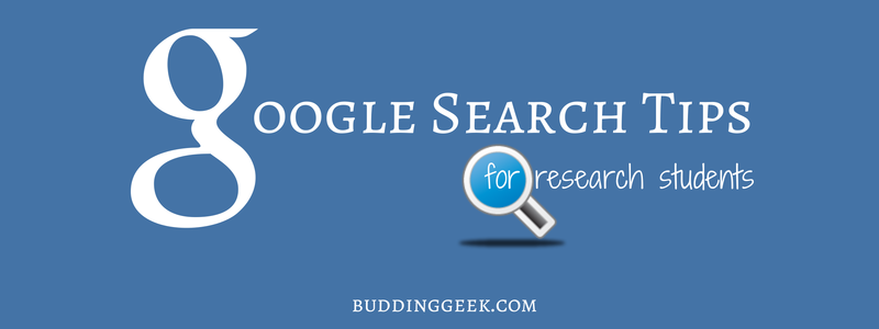 google search tips poster