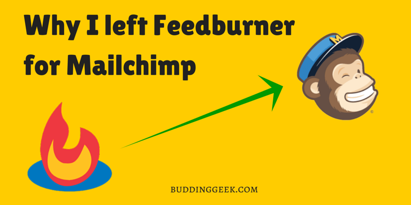 Feedburner to Mailchimp - Poster