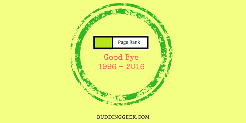 Google PageRank Dead - Poster