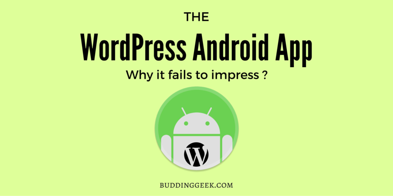 The WordPress Android App : Poster