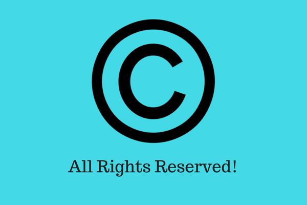 Copyright notice - Blog
